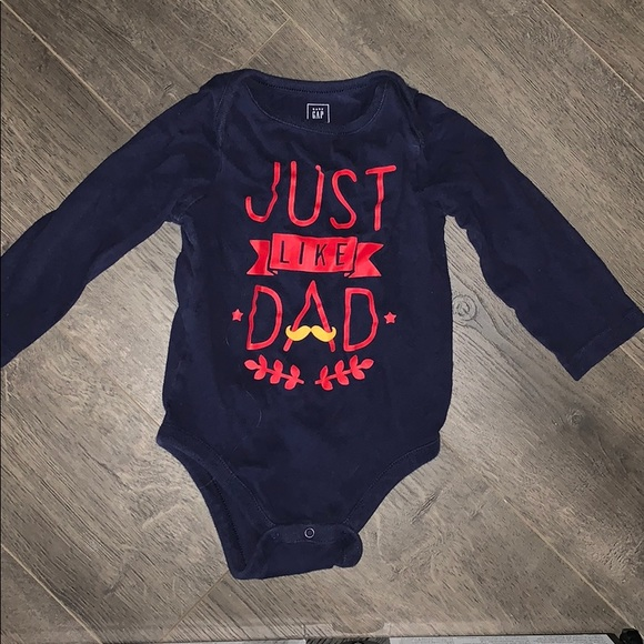 GAP Other - Just Like Dad Onesie